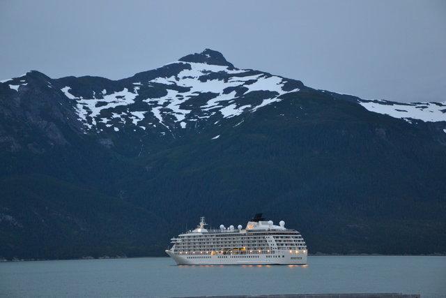crucero en Haines, Alaska